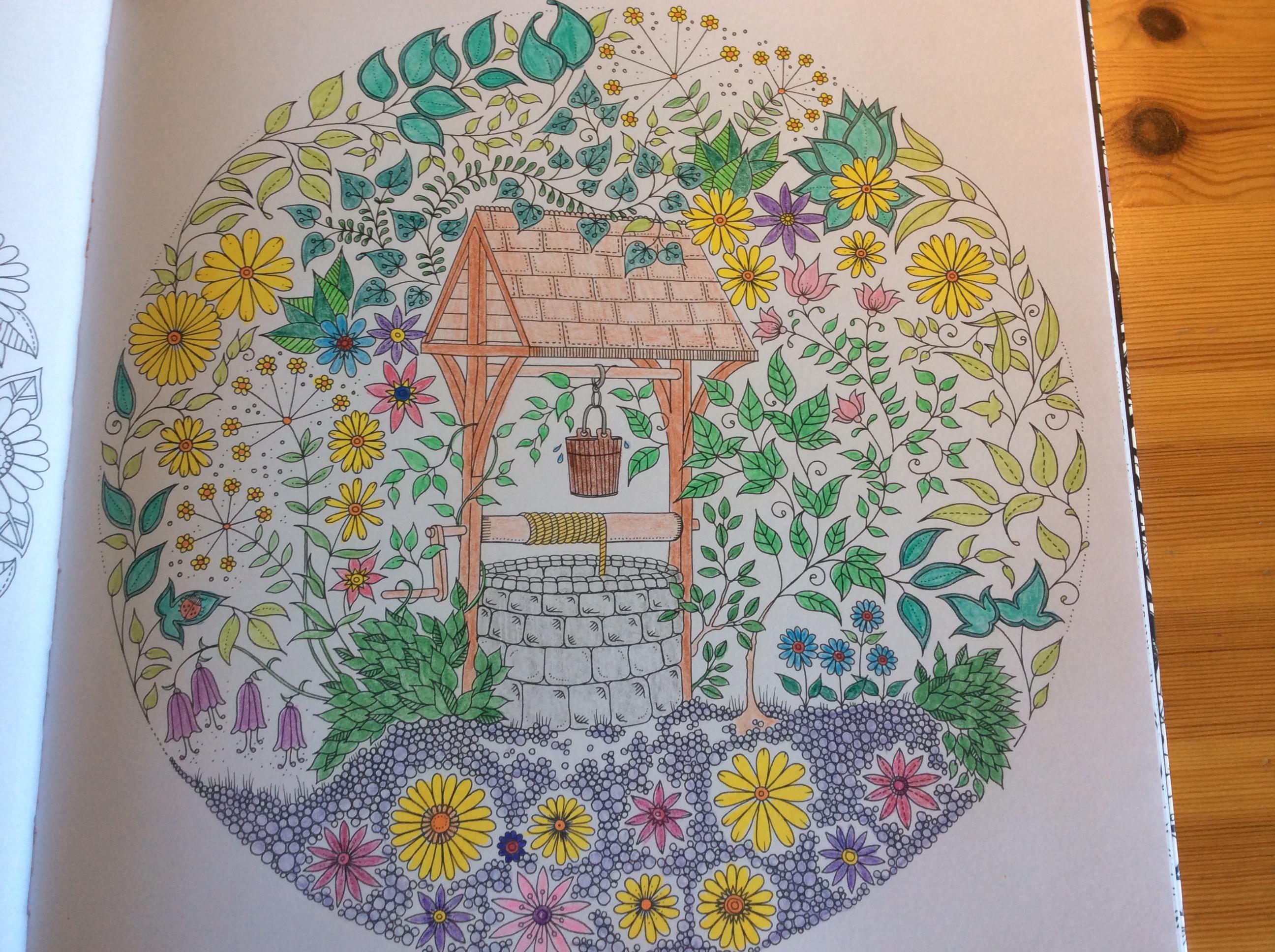 Coloriages et petites cr ations jardin secret - Mon jardin secret coloriage ...