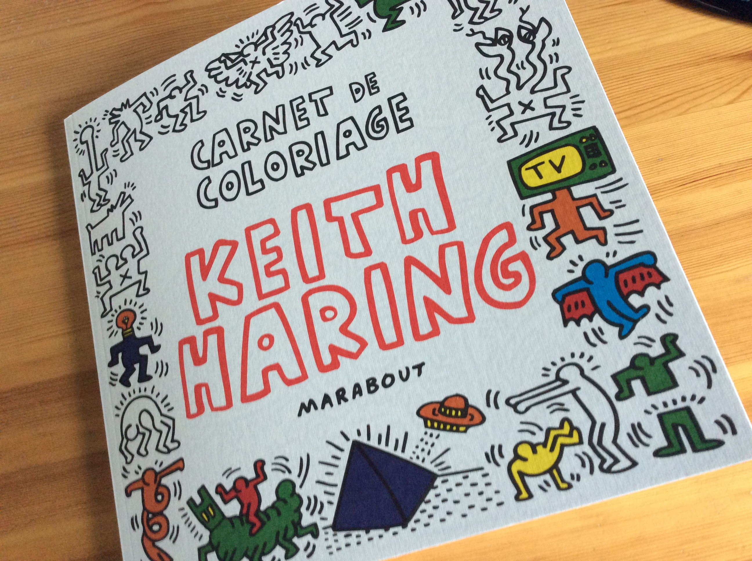 Beau Dessin A Colorier Keith Haring